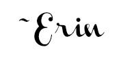 Erin's Signature