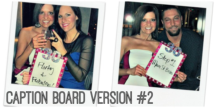 New Caption Board Collage