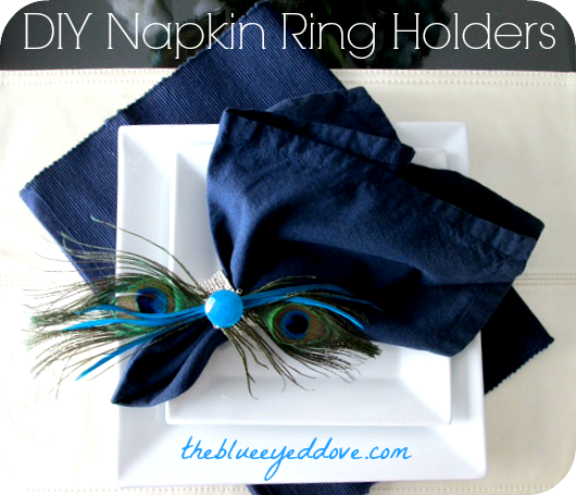 DIY Napkin Ring Holders