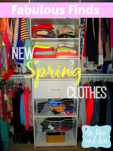 New Spring Clothes