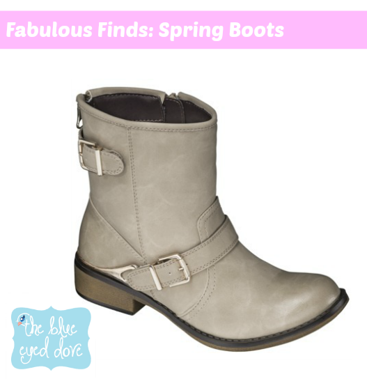 Target Spring Boots
