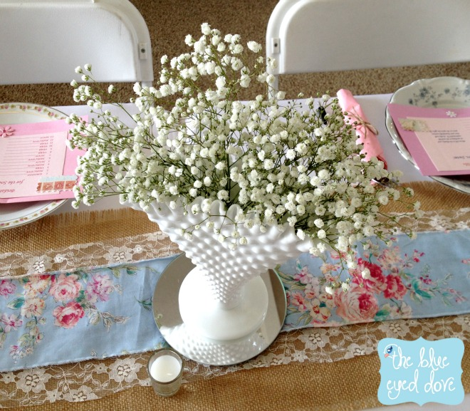 Shabby Chic Bridal Shower Decor