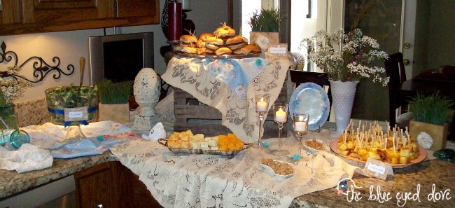 A Shabby Chic Bridal Shower Part 2 The Blue Eyed Dove