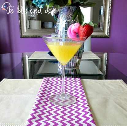Tipsy Peep Martini