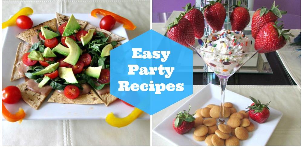 Easy Party Recipes