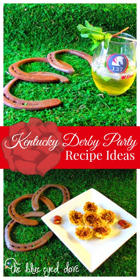 The blue eyed dove kentucky derby party recipe ideas the blue kentucky derby party recipe ideas forumfinder Image collections