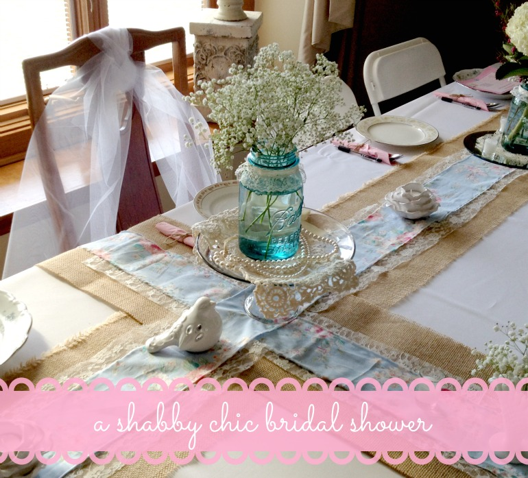 Shabby Chic Bridal Shower Header