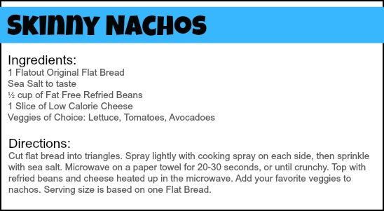 Skinny Nachos Recipe