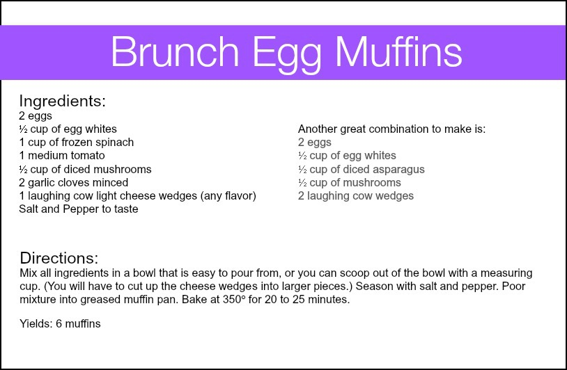 A Mother's Day Brunch Recipe - Brunch Egg Muffins