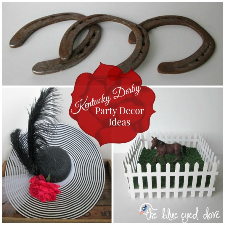 Kentucky derby party decor ideas the blue eyed dove