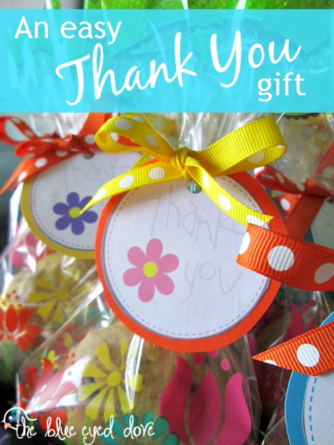 An Easy Thank You Gift