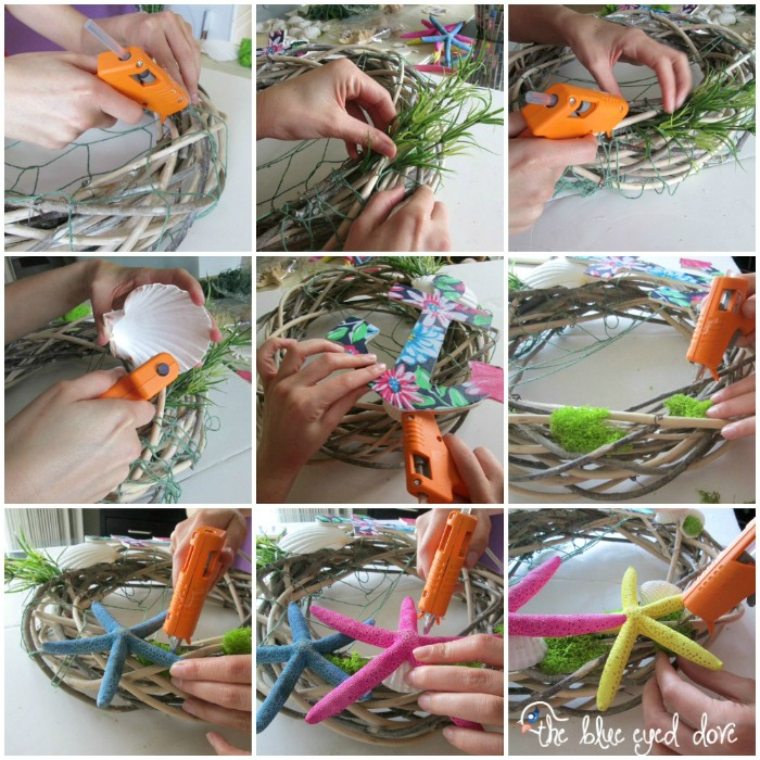 Summer Wreath Tutorial
