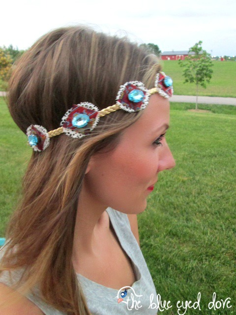 DIY Boho Chic Headband