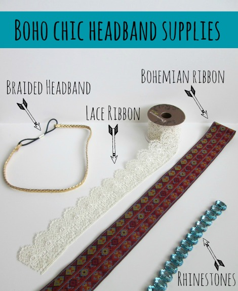 Boho Chic Headband Supplies