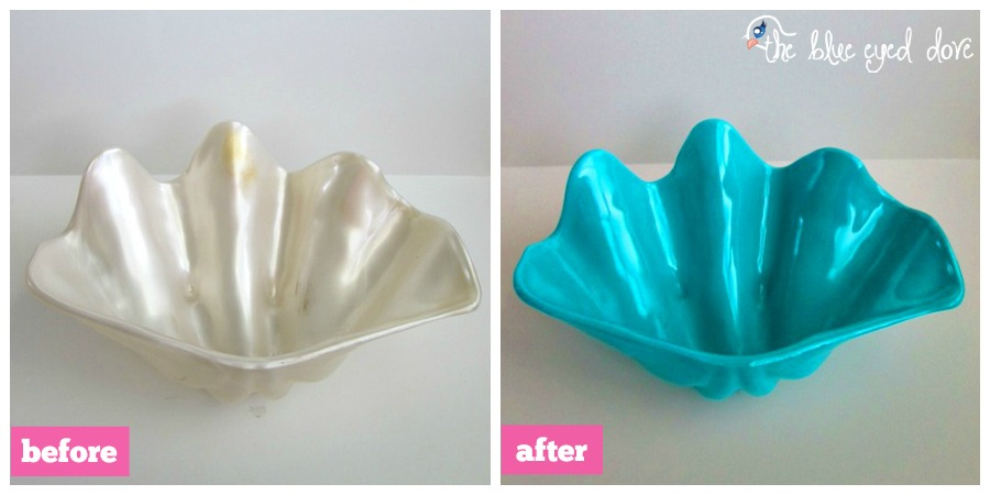 Clam Shell Before and After