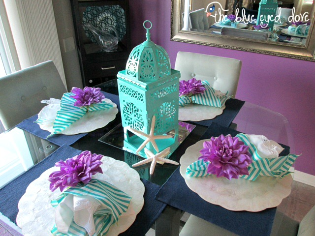 Summer Dining Room Table Decor