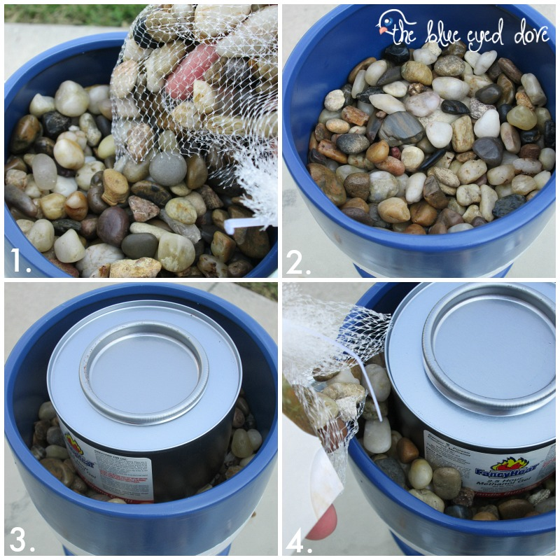 Diy make a fire pit in a flower pot page 2 of 2 home for Flower fire pit