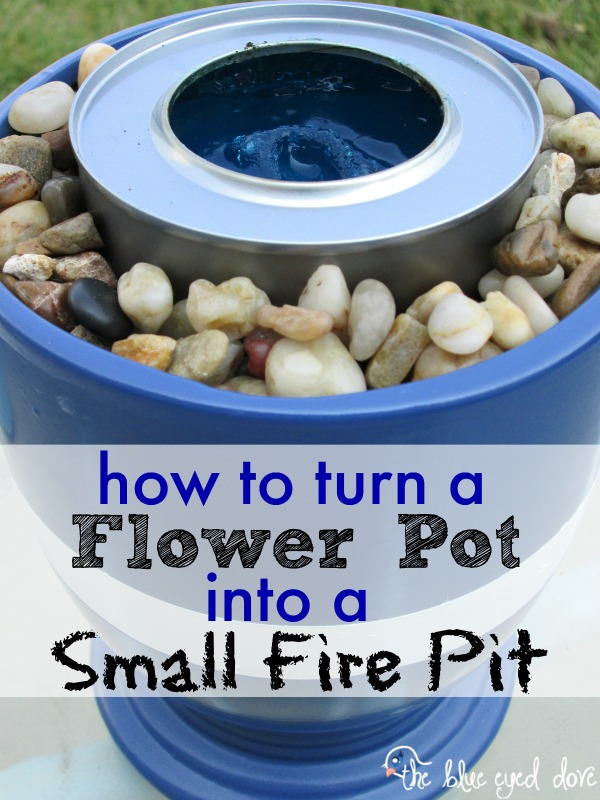 Make Your Own Small Fire Pit The Blue Eyed Dove