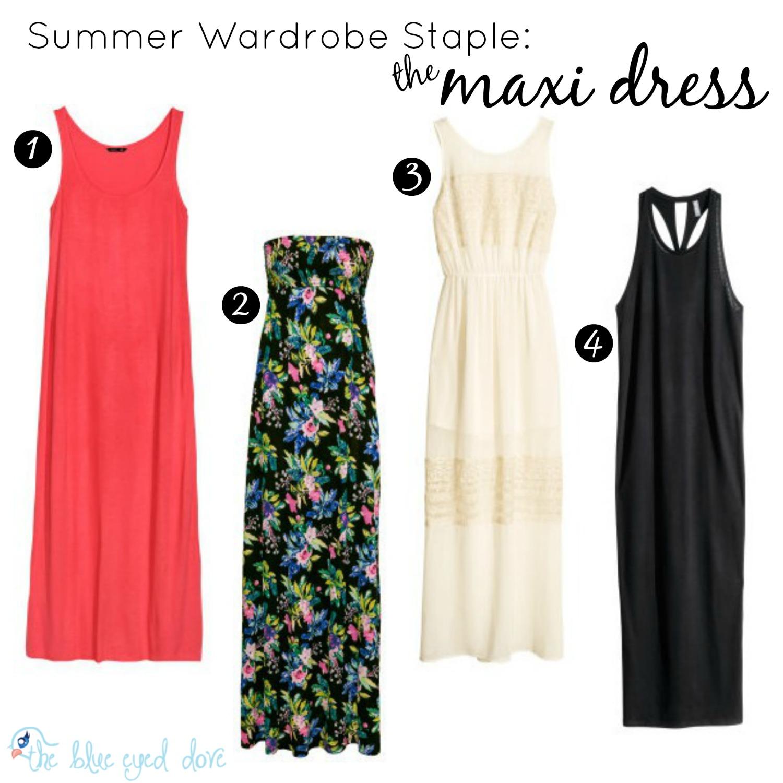 Summer Wardrobe Maxi Dress