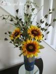DIY Sunflower Arrangement