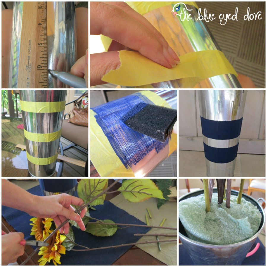 DIY Sunflower Floral Arrangement Instructions