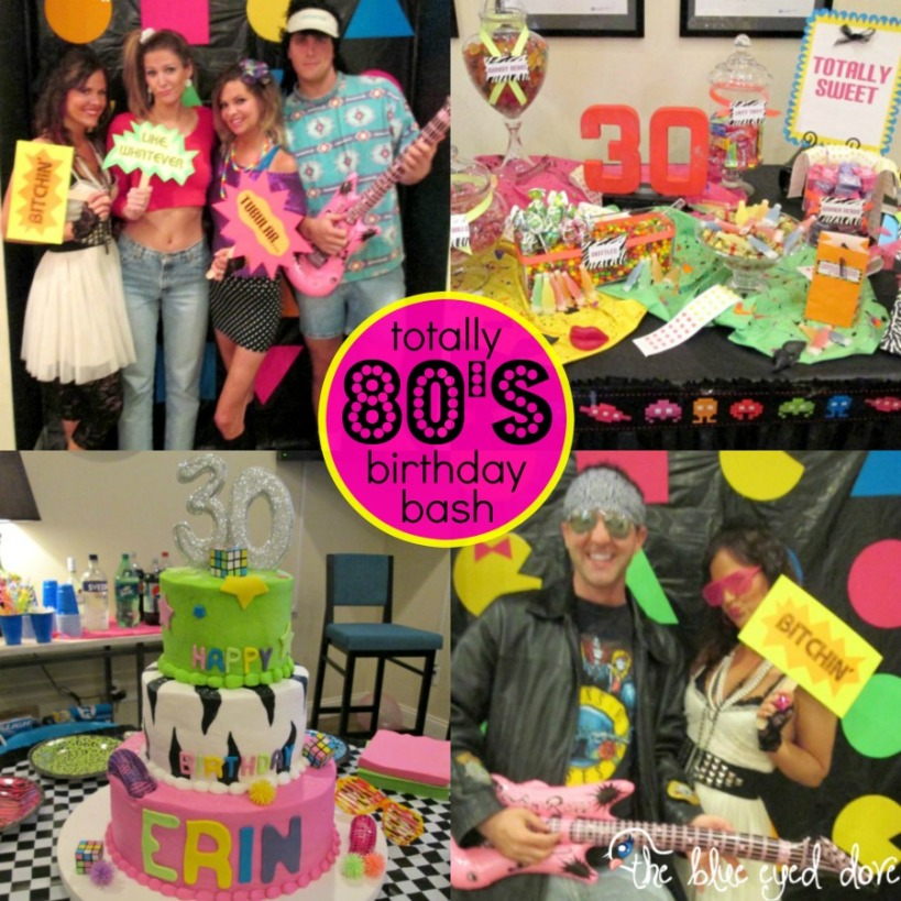 Totally 80's Birthday Bash