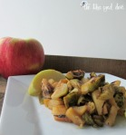 Apple CIder Brussel Sprouts 2