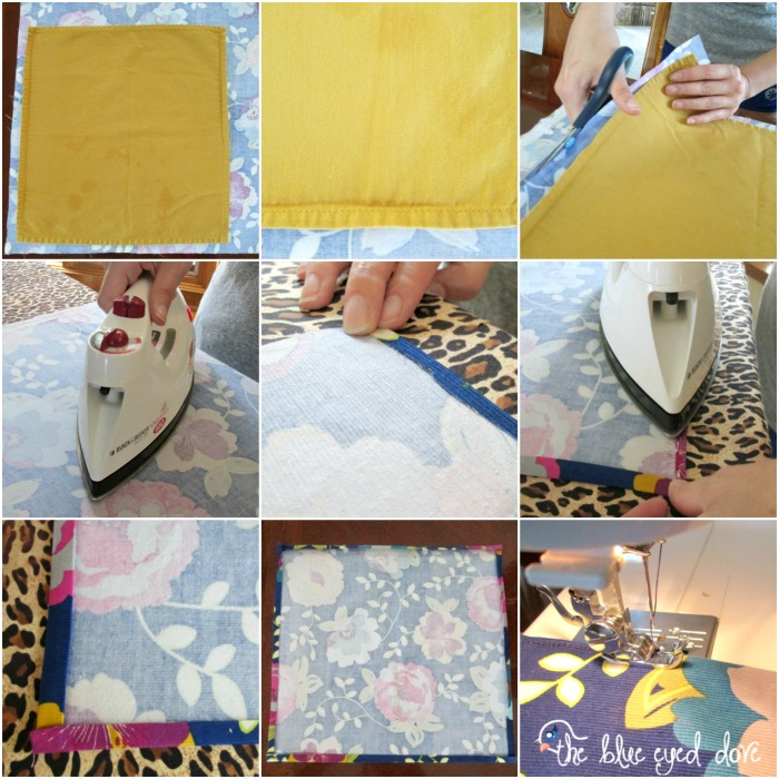 Easy DIY Cloth Napkins