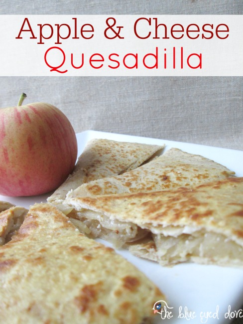 Apple & Cheese Quesadilla