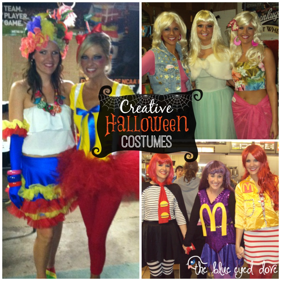 the blue eyed dove - creative halloween costumes - the blue eyed dove