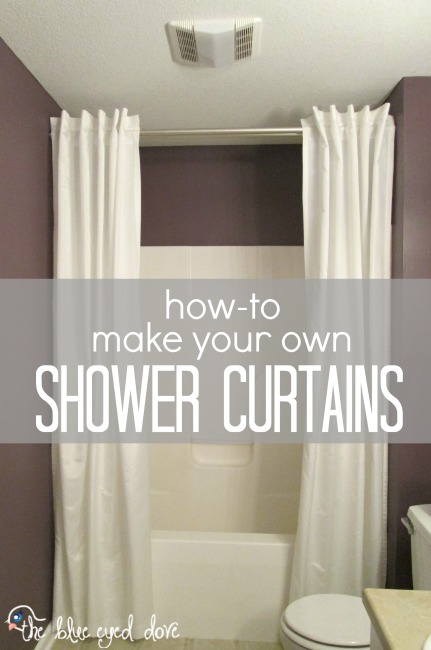 How-to Make Shower Curtains