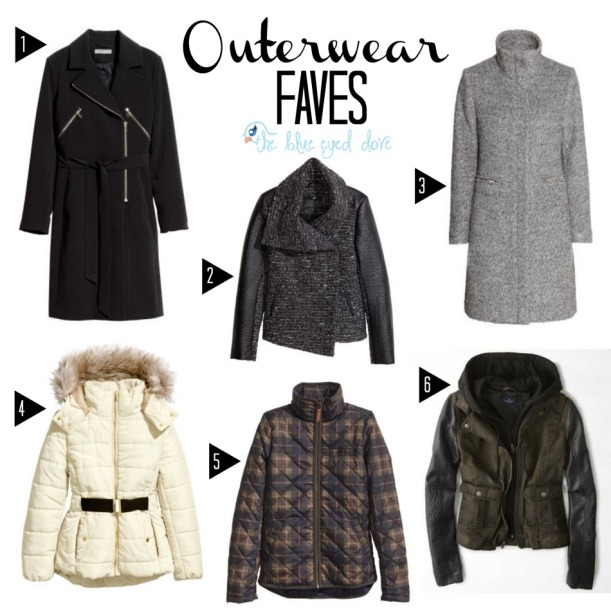 Outerwear Faves
