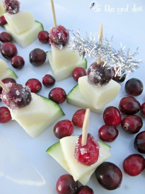 Zucchini Cranberry Appetizer