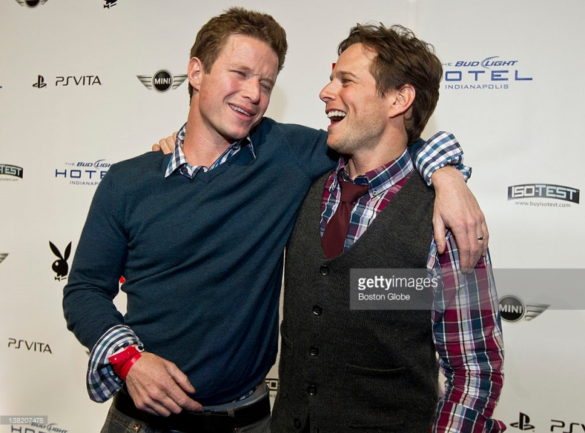 Billy Bush Superbowl Pic