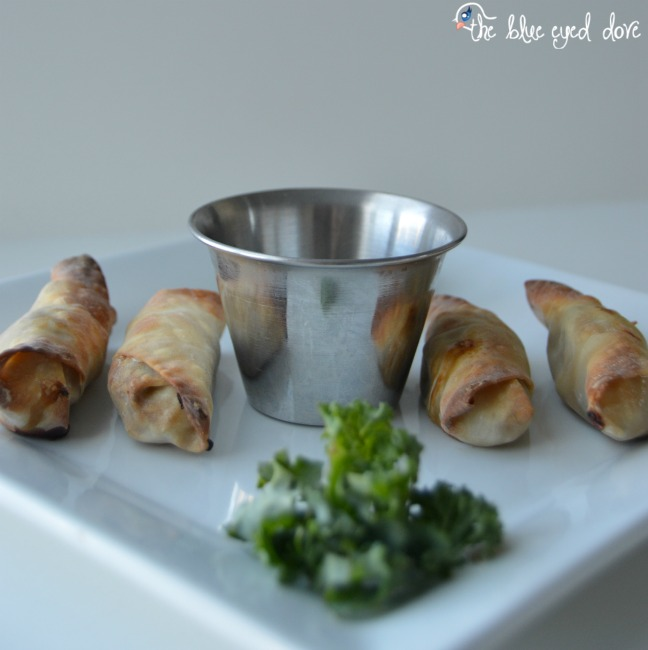Mini Shrimp Egg Rolls